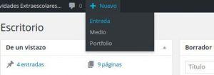 Cómo Publicar una entrada (Post) en WordPress